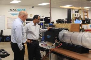 The new dynamic duo - Aeroseal's Amit Gupta and Brendan Reid of CI