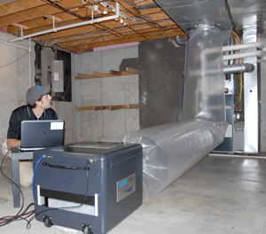 How Aeroseal Works: Pretesting your Ductwork