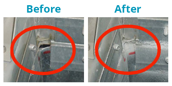 Before/After Aeroseal