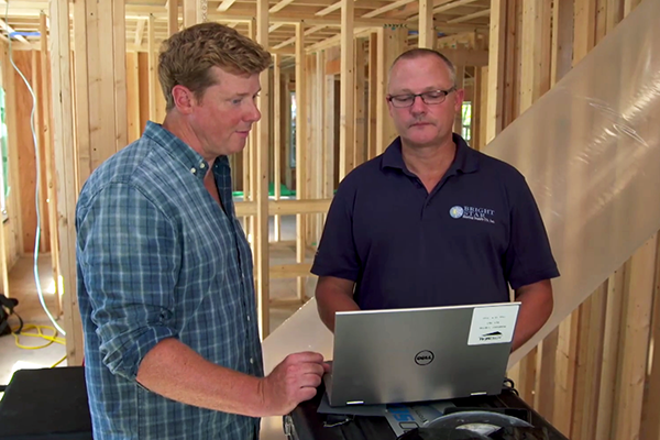 This Old House with Kevin O'Connor Features Aeroseal in New Construction