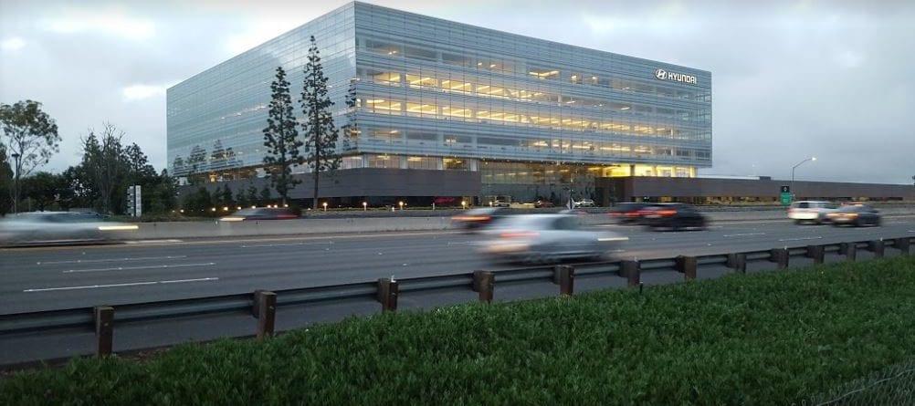 Hyundai U.S. Headquarters located in Fountain Valley, California