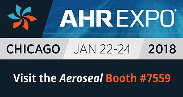 AHR 2018 Aeroseal Booth #7559