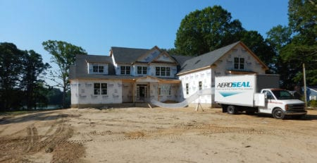 Aeroseal in Residential New Construction