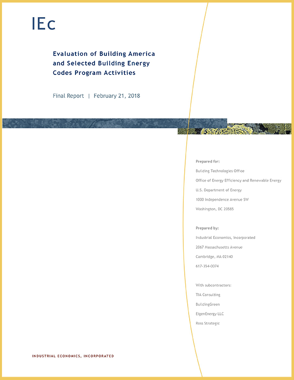 IEC Report 2018 - Building Codes - Thumbnail