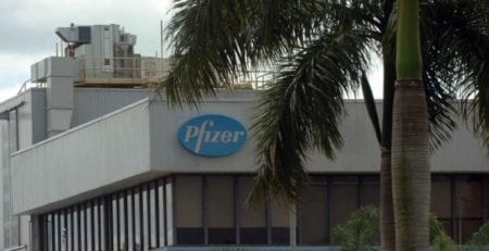 Pfizer Building Front