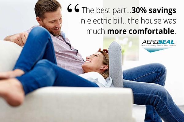 Homeowners use Aeroseal