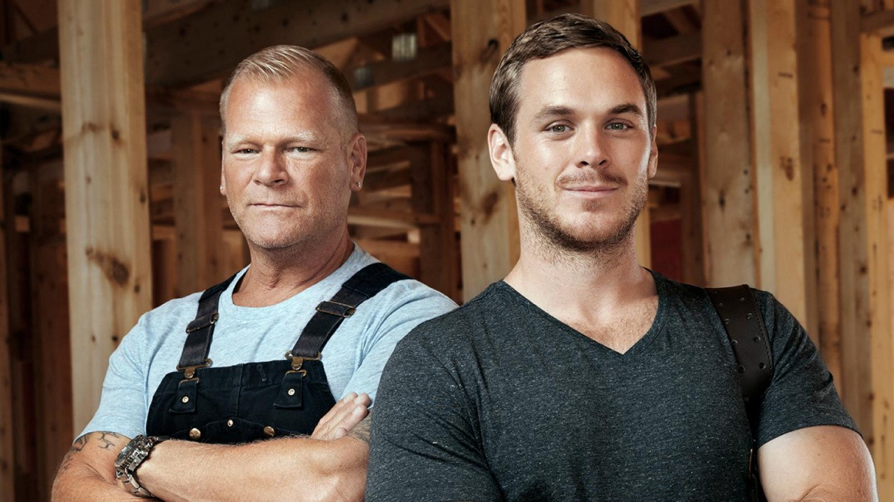 Mike Holmes and His Son Mike Holmes, Jr.