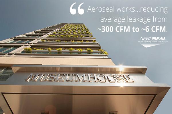 Canada - MuseumHouse Aeroseal Project