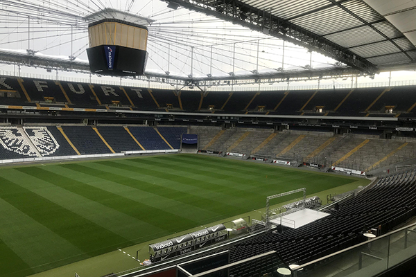 Germany's Frankfurt Football (Soccer) Stadium - Aeroseal Demo