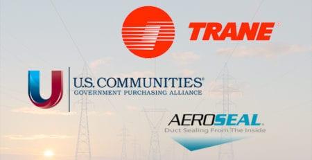 Trane + U.S. Communities + Aeroseal