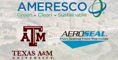 Ameresco, Texas A&M, Aeroseal